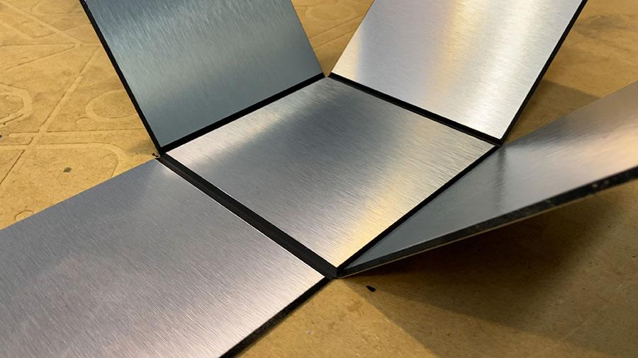 cortar composite aluminio